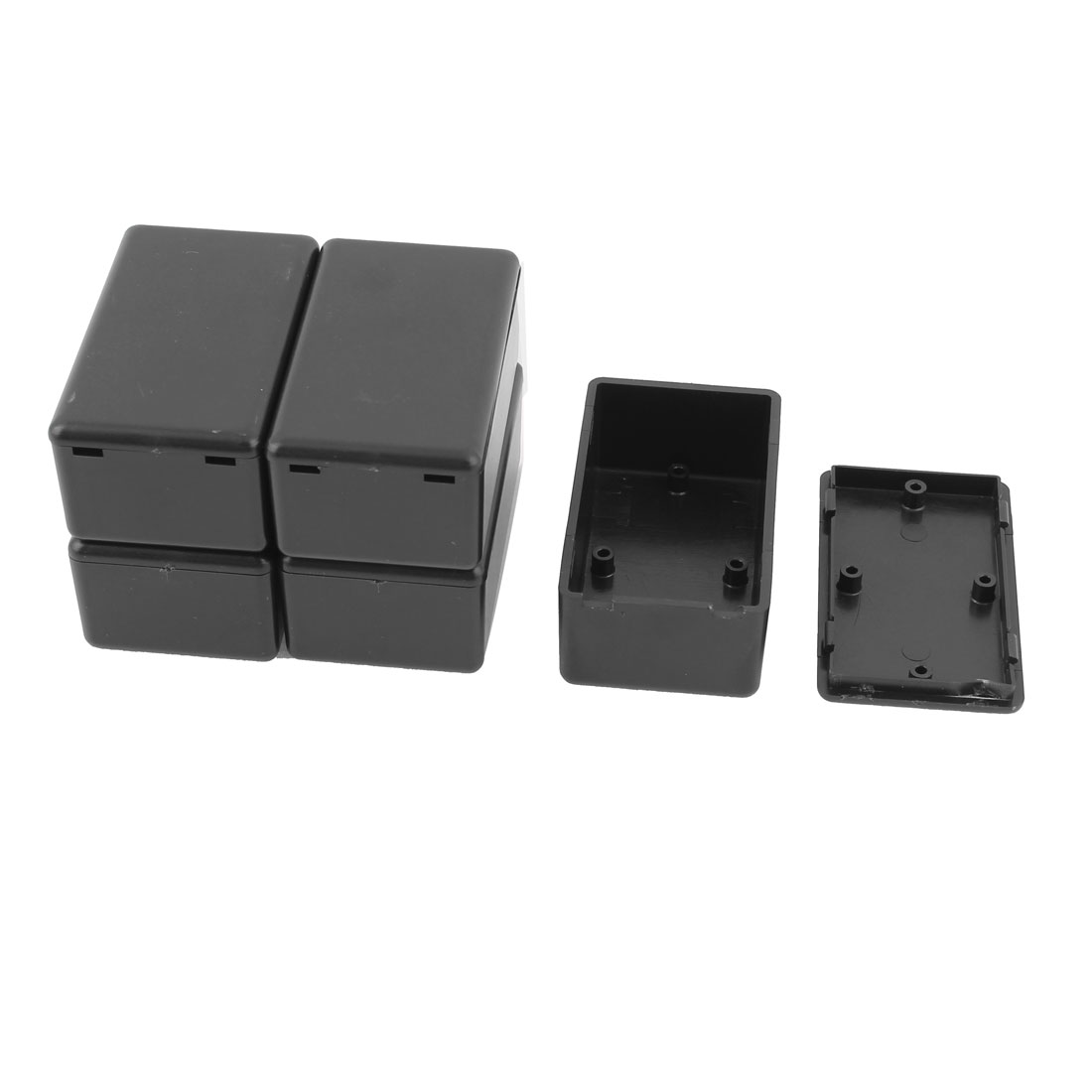 5pcs Waterproof Plastic Electric Project Case Junction Box 60x36x25mm
