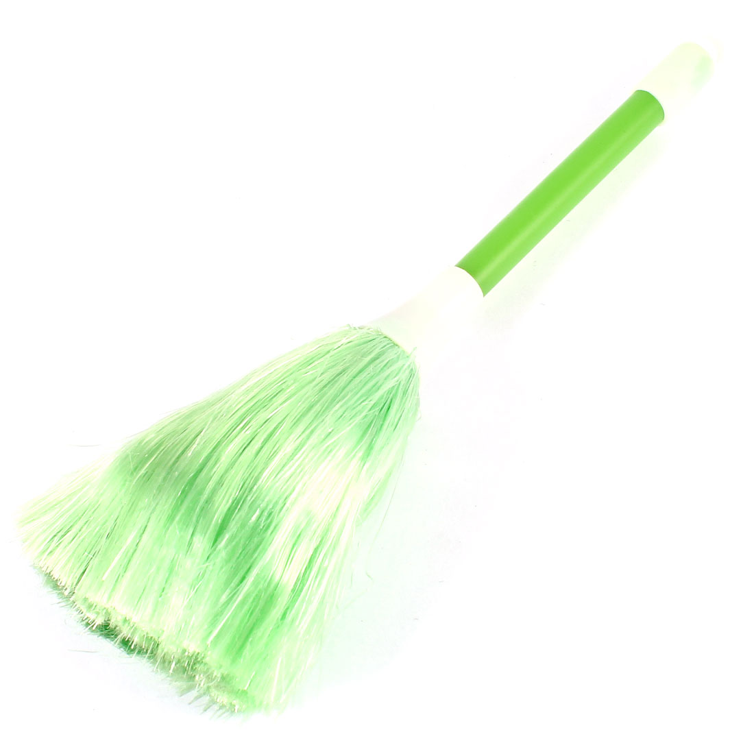 Computer PC Laptop Keyboard TV Camera Cleanner Brush Cleaning Dust Brush Green White 21cm Long
