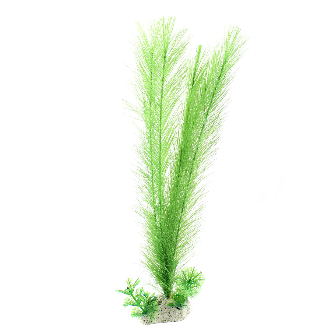 "Fish Tank Decoration Artificial Aquatic Plant Green 12.6 "" Height"
