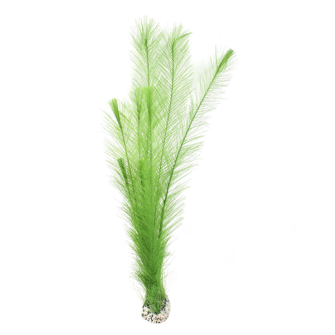 "Fish Tank Decoration Aquarium Landscaping Artificial Emulational Simulated Nylon Aquatic Underwater Grass Plant Green 11.8 "" Height"