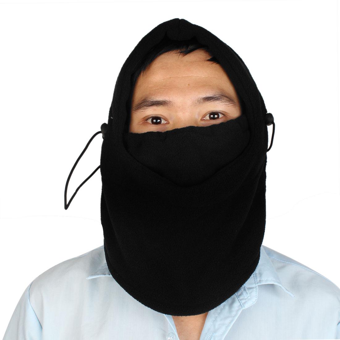 Thermal Black Fleece Balaclava Hood Sports Ski Bike Wind Stopper Face Mask