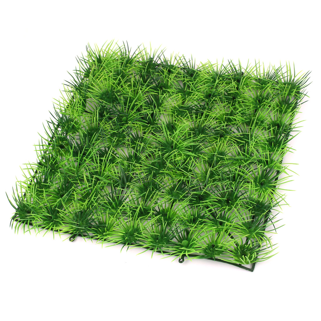 "Aquarium Landscaping Green Manmade Aquatic Grass Lawn Plant 9.4"" Length"