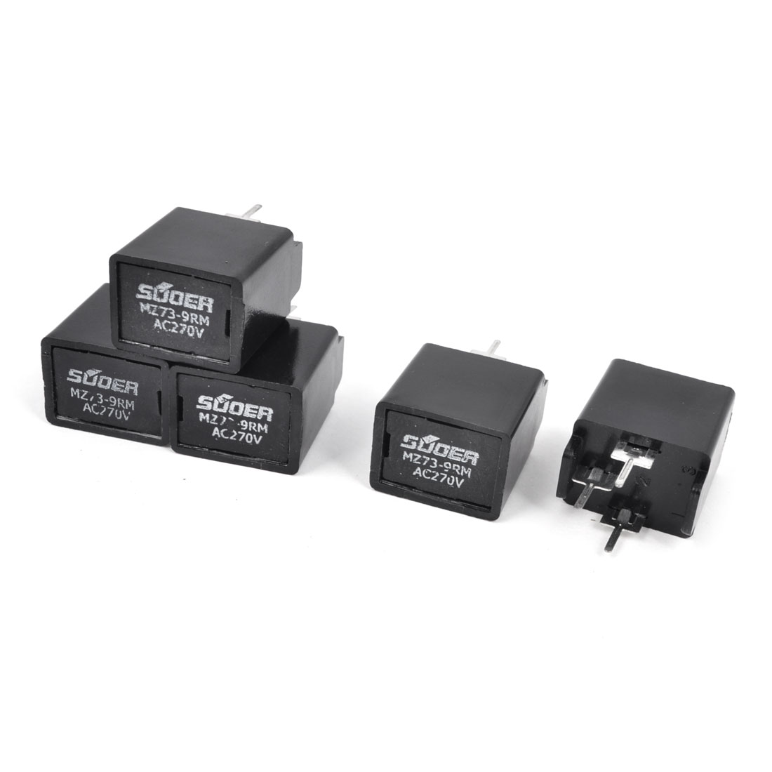5 Pieces MZ73-9RM 9 Ohm 270V 3 Terminals PTC Degaussing Resistors for Color TV