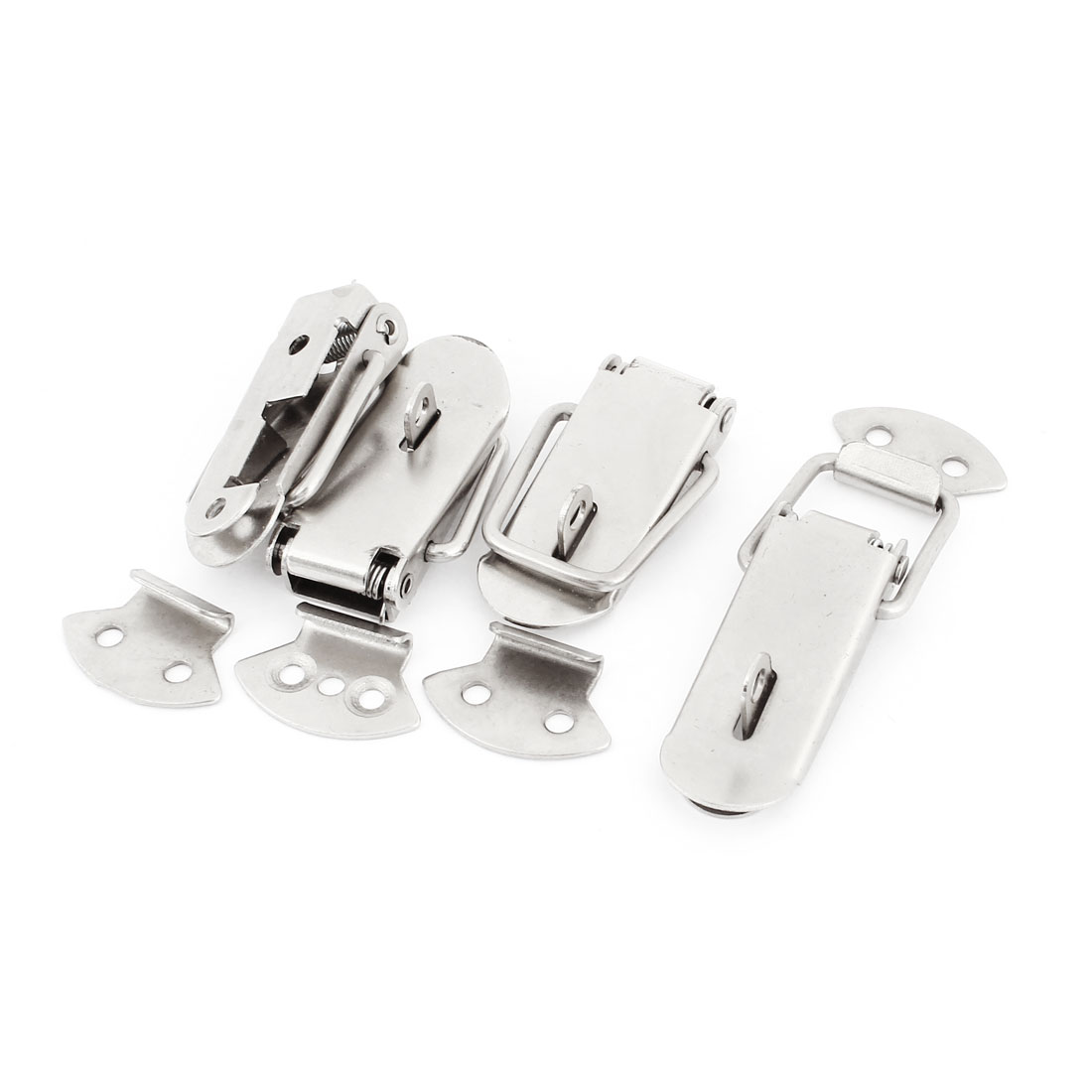 Toolbox Cases Stainless Steel Latch Toggle Hasp Lock Strike 7.5cm Long 4sets