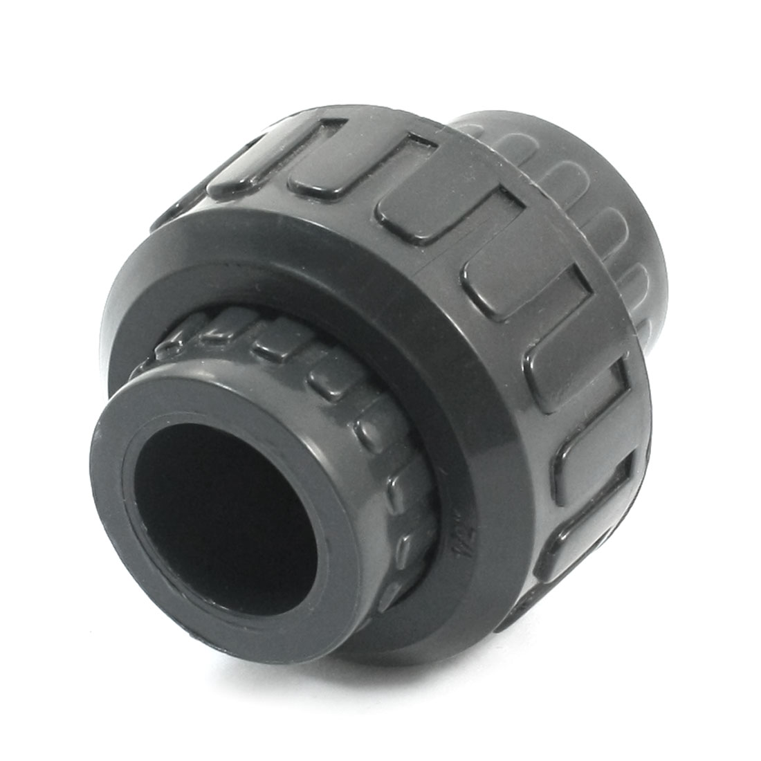 20mm Dia Detachable Drainage Pipe Hose Tube Coupling Connector Fitting Black