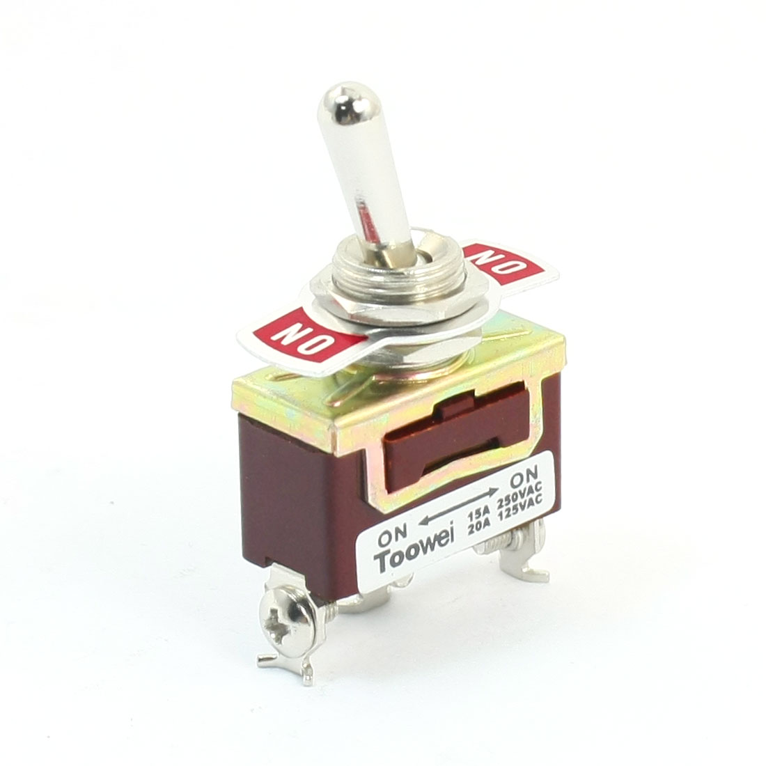 Repairing AC 250V 15A SPDT ON/ON 2 Position Latching Toggle Switch T701BW