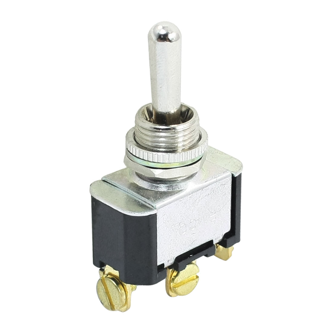 12mm Panel Mounted SPDT ON-OFF-ON Latching Toggle Switch AC 250V 10A T6013W