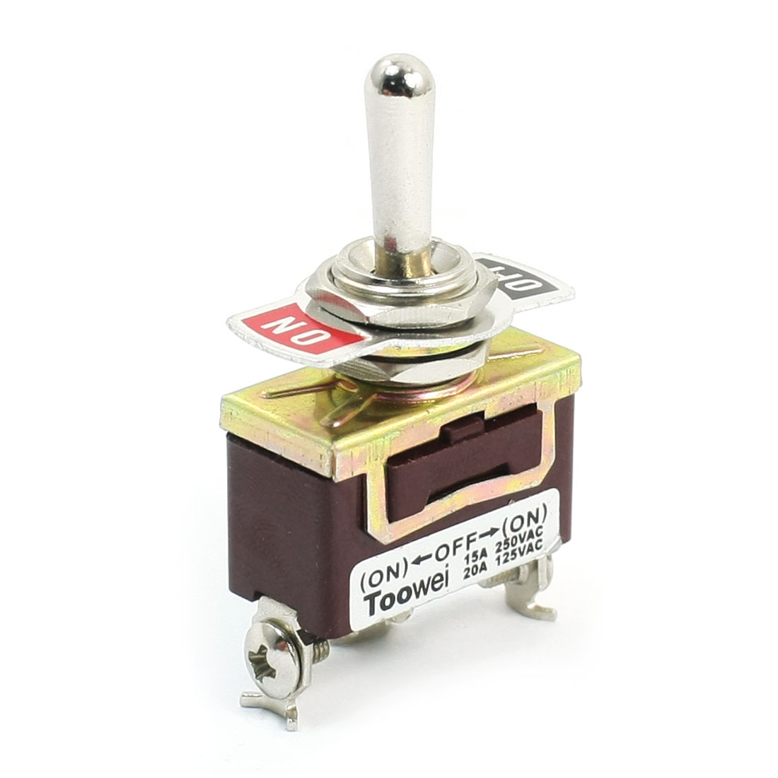 One Way Momentary One Way Latching SPDT Toggle Switch AC 125V 20A 3 Position