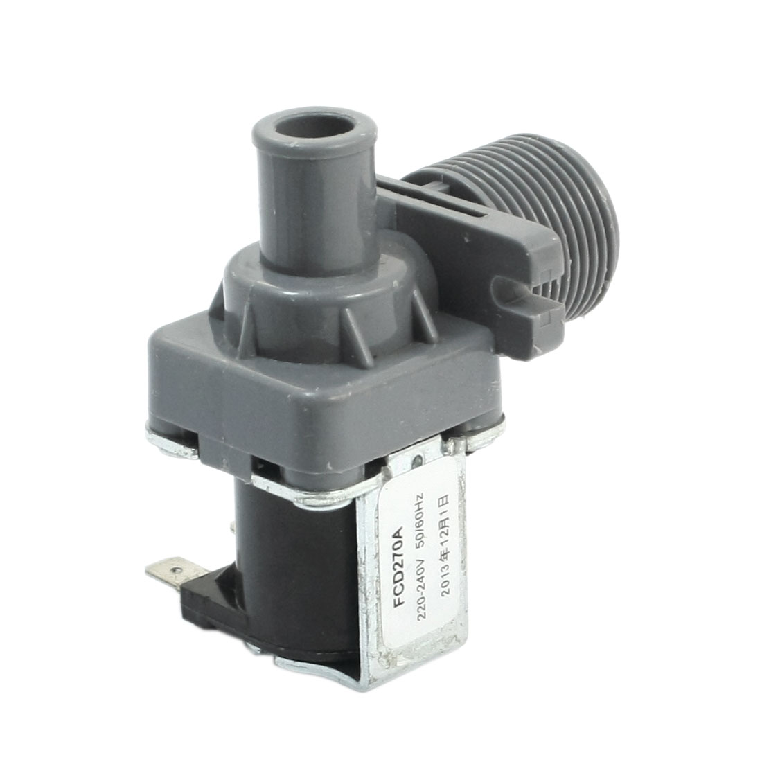 G3/4 Male Threaded Water Inlet Electric Solenoid Valve AC 220-240V for Washer