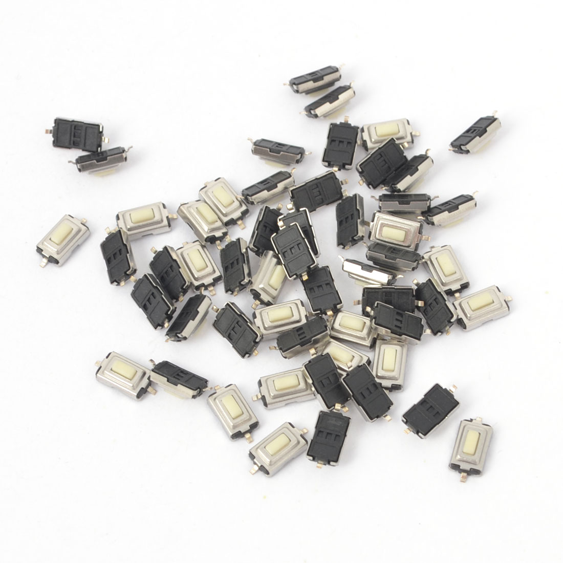 55Pcs Momentary Tact Tactile Push Button Switch 3x6x2.5mm 2-Terminals