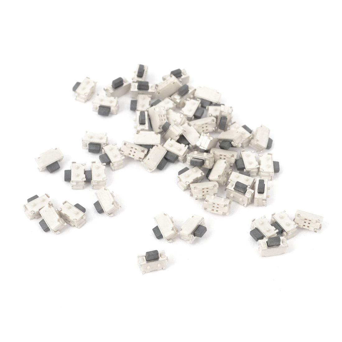 55Pcs Momentary Tact Tactile Push Button Switch 2x4x3.5mm