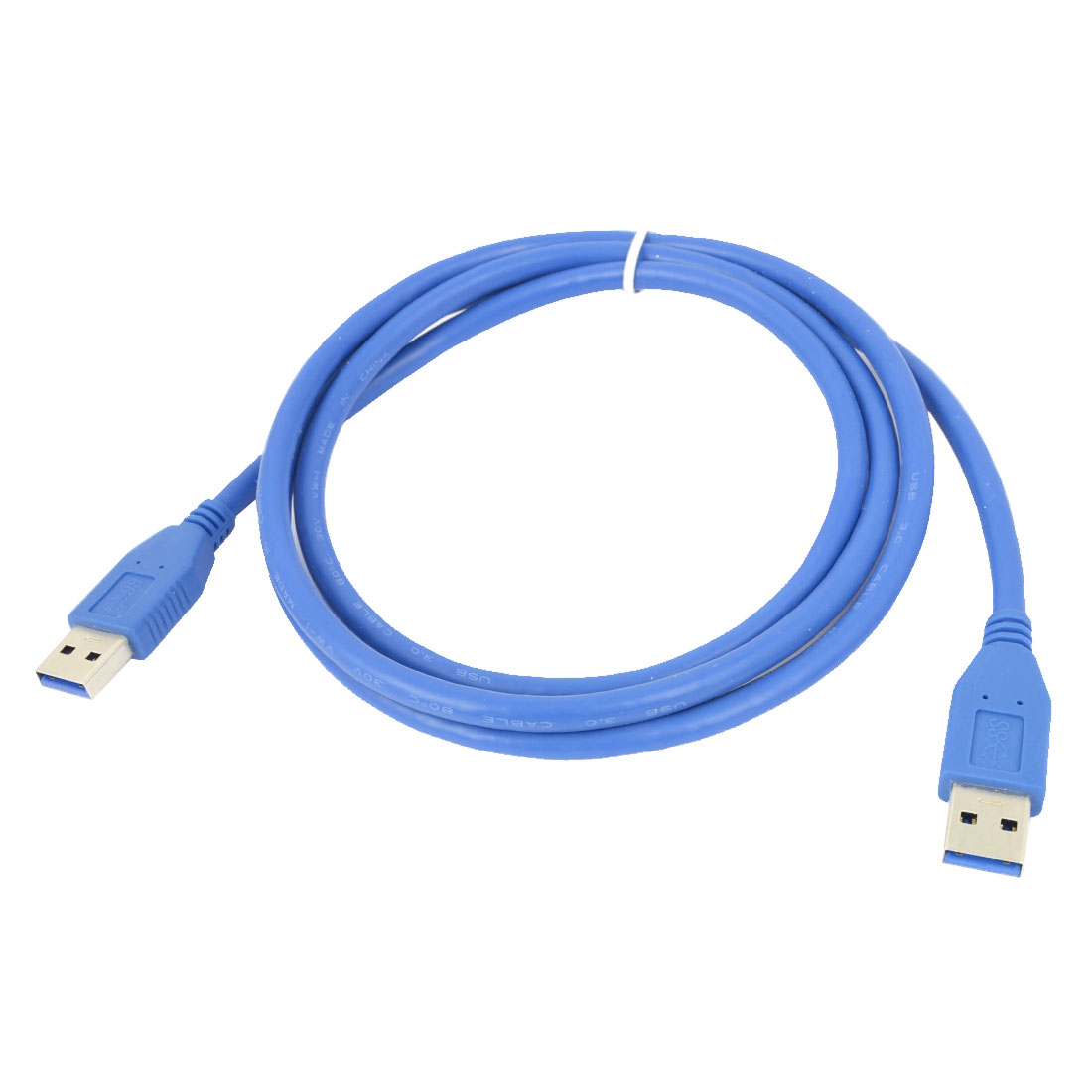 Blue USB 2.0 Type 1.5M 4.9ft A Male to Male Extension Cable Cords