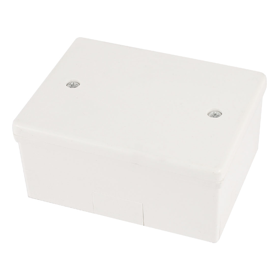 100mm x 75mm x 46mm Surface Mounted Waterproof Rectangle White PVC Enclosure Case DIY Junction Box