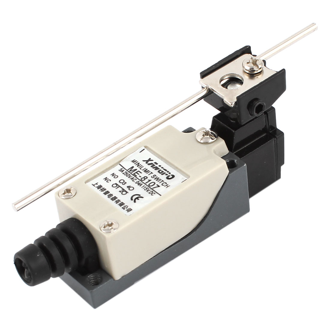 AC 250V 5A DC 115V 0.4A NO NC SPDT Mechanical Control Rotary Lever Limit Switch