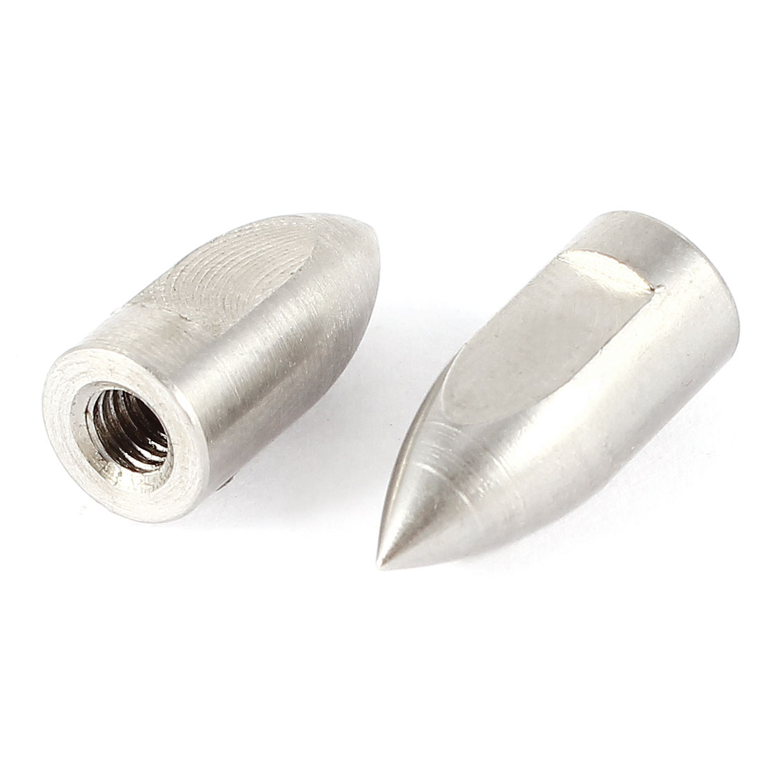 2 Pcs 18mm x 8mm Stainless Steel Flexshaft Prop Nut Replacement for Remote Control Boat 4mm Shaft