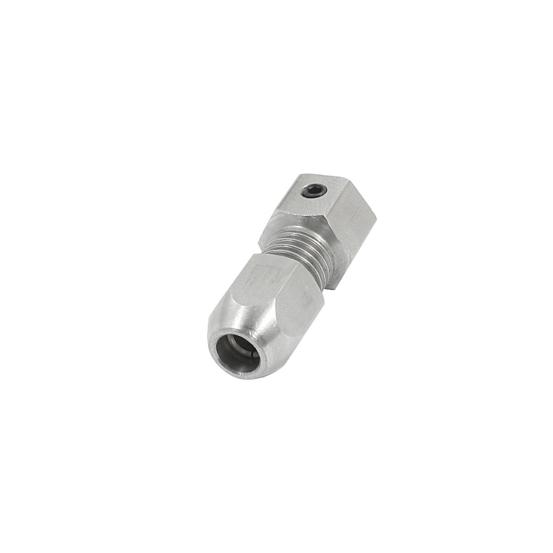 6.35mm Threaded to 4.76mm Stainless Steel Collet Coupler Shaft for RC Boat Gasoline Engine Clutch
