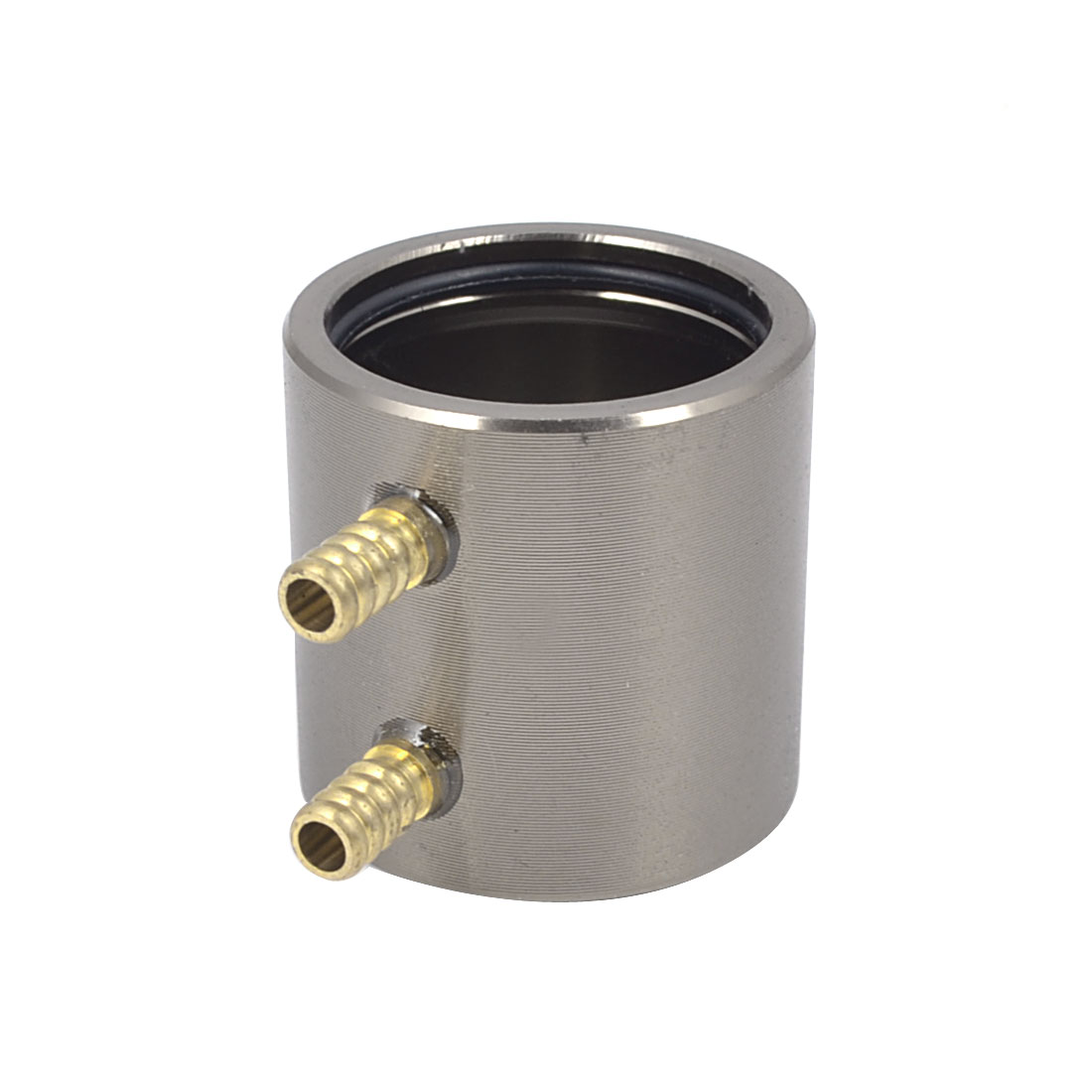 20mm x 25mm Aluminum Brown Anodized Water Cooling Jacket Radiator for RC Boat B20 Brushless Motor