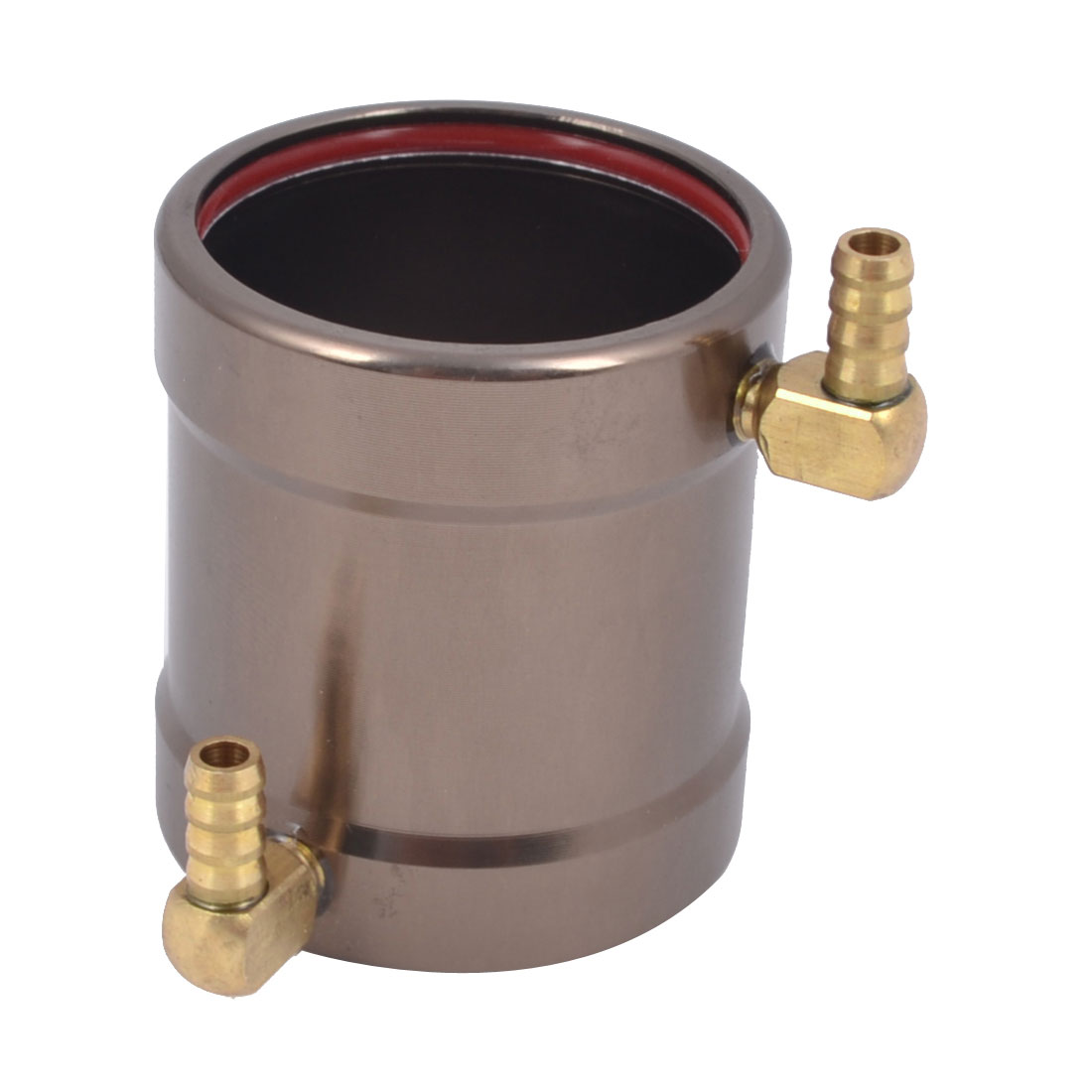 28mm x 36mm Aluminum Brown Anodized Water Cooling Jacket for B28 Brushless Boat Motor