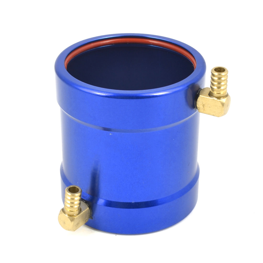 40mm x 50mm Aluminum Blue Anodized Water Cooling Jacket for B40 Brushless Boat Motor