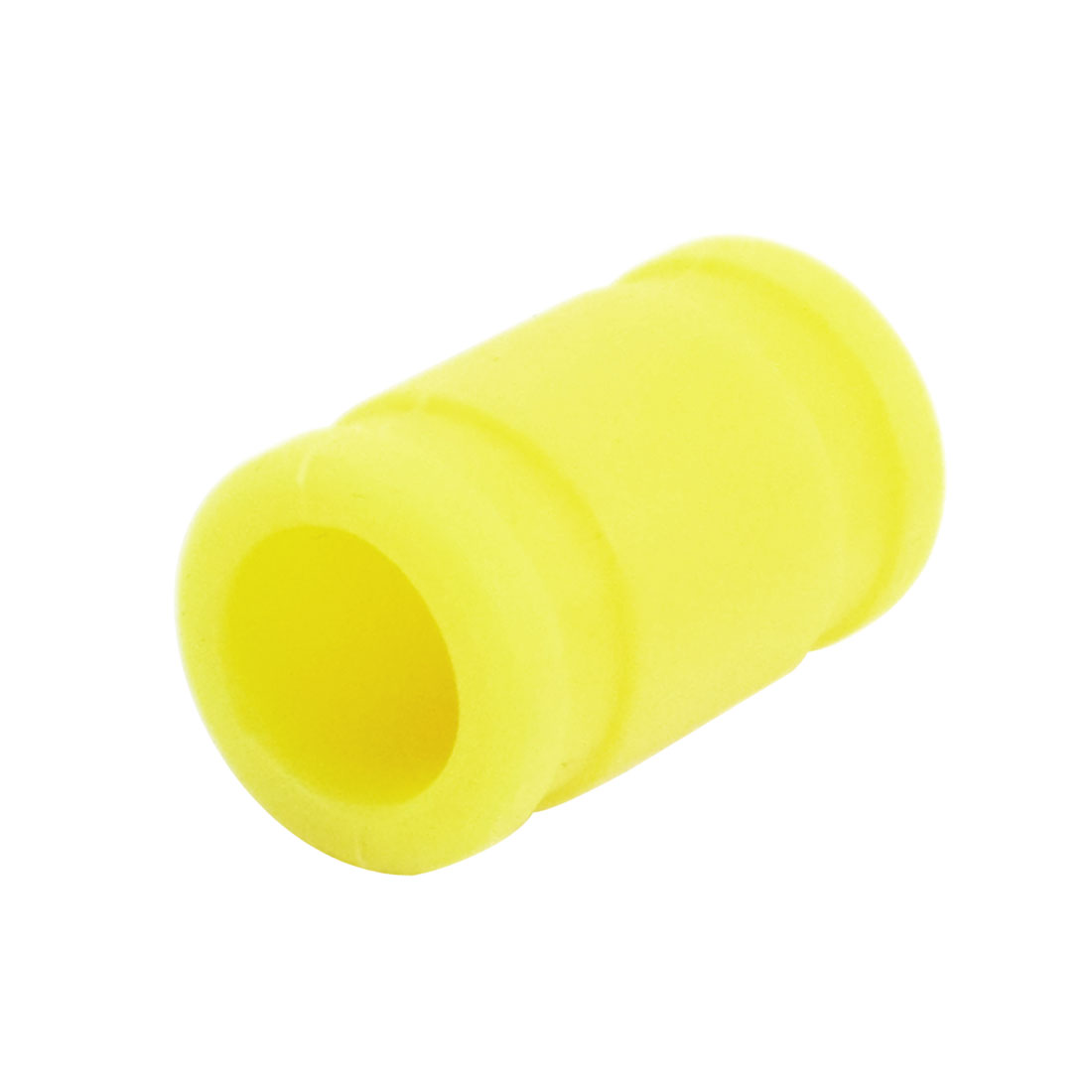 15mm x 24mm x 39mm Yellow Silicon Connector Tube Adapter for 1/8 RC Model Car Vent-Pipe