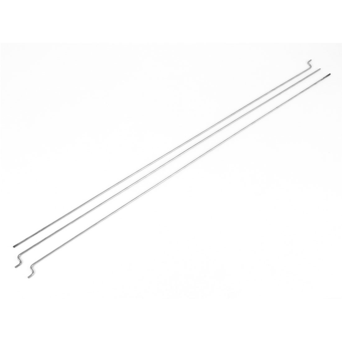 3 Pcs 300mm x 1.5mm Stainless Steel Push Rods Piano Wire for EP Nitro Gas Boat Marine