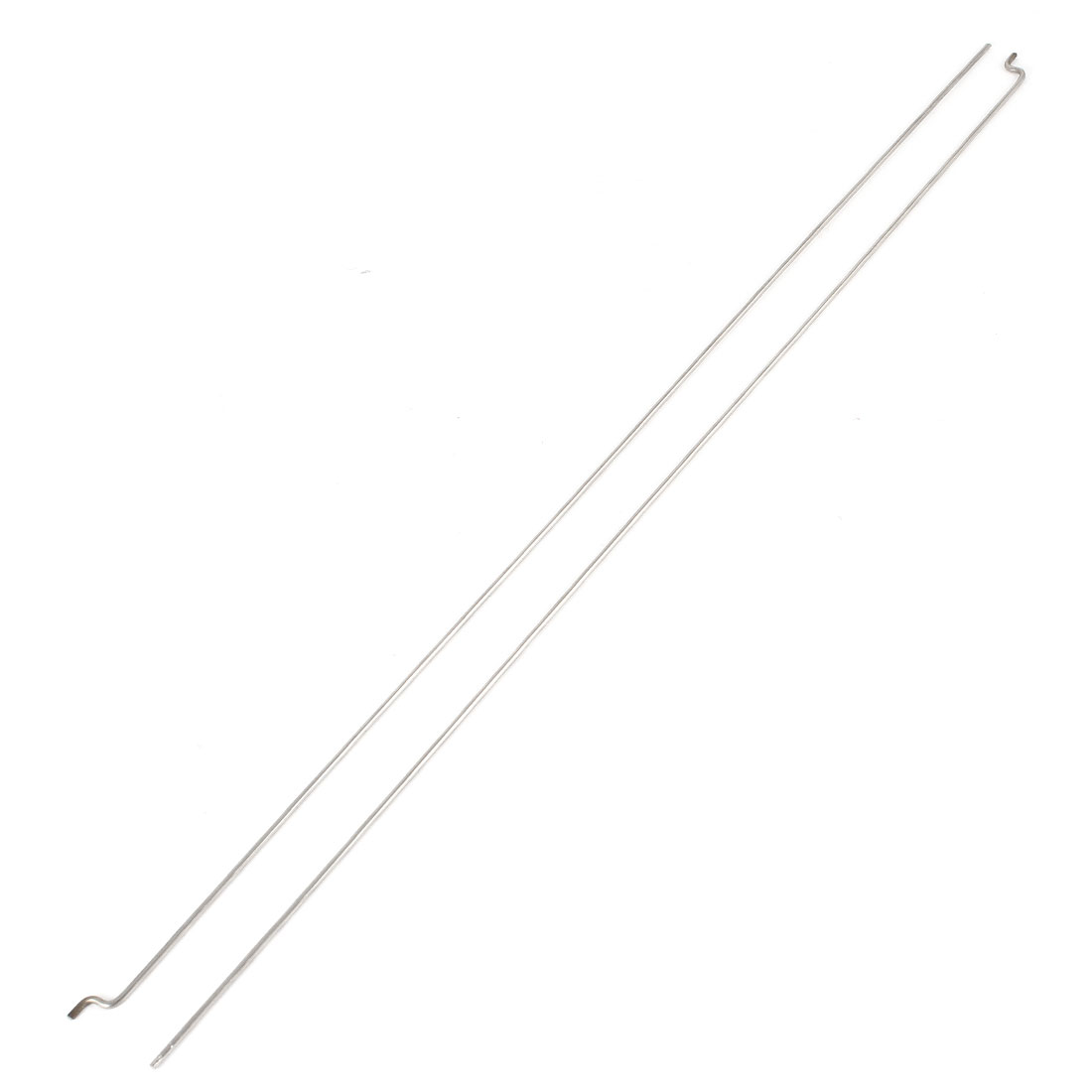 2PCS 330mm x 1.5mm Stainless Steel Push Rods Piano Wire for EP Nitro Gas Boat Marine