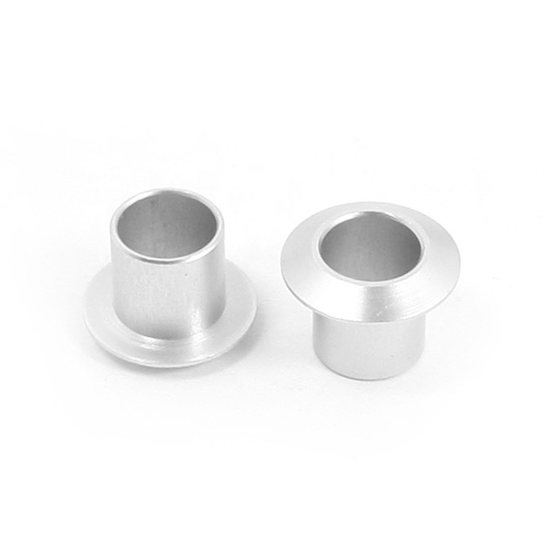 2Pcs 6mm Inner Dia 8mm x 11mm Aluminum Alloy Ring Sleeve Coupling for RC Boat Silicone Tube