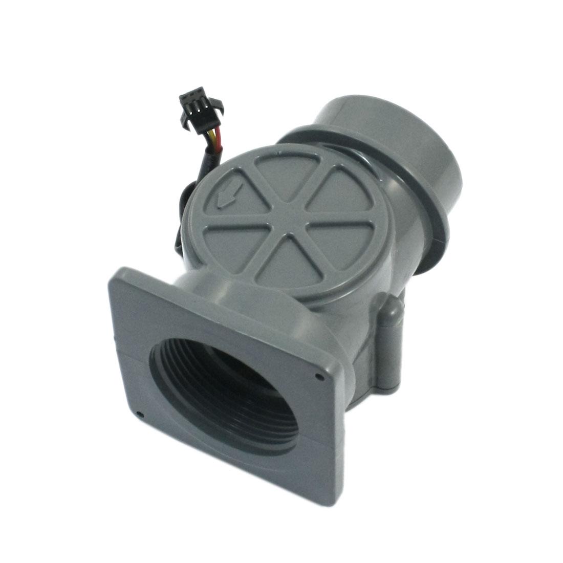 2-200L/min 2Mpa G1 1/2 Water Fluid Flow Control Hall Sensor Meter Flowmeter