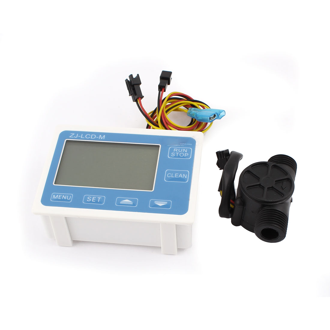 G1/2 Hall Effect Water Heater Flow Sensor Switch Flowmeter w Digital LCD Control