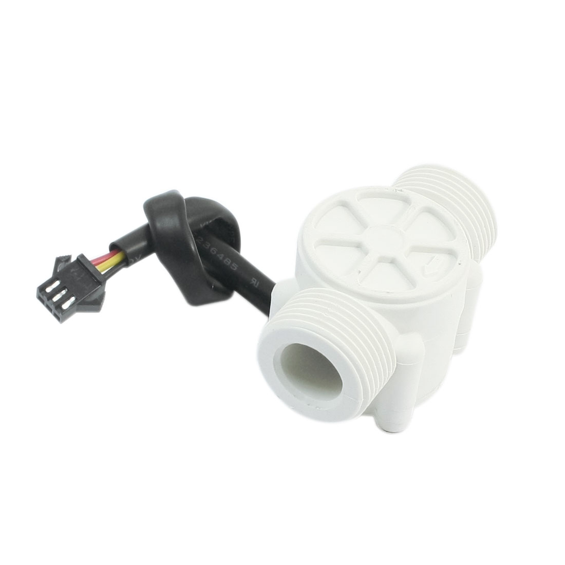 Plastic 1-30L/min 1.2Mpa G3/4 Male Thread Water Flow Rate Sensor Flowmeter