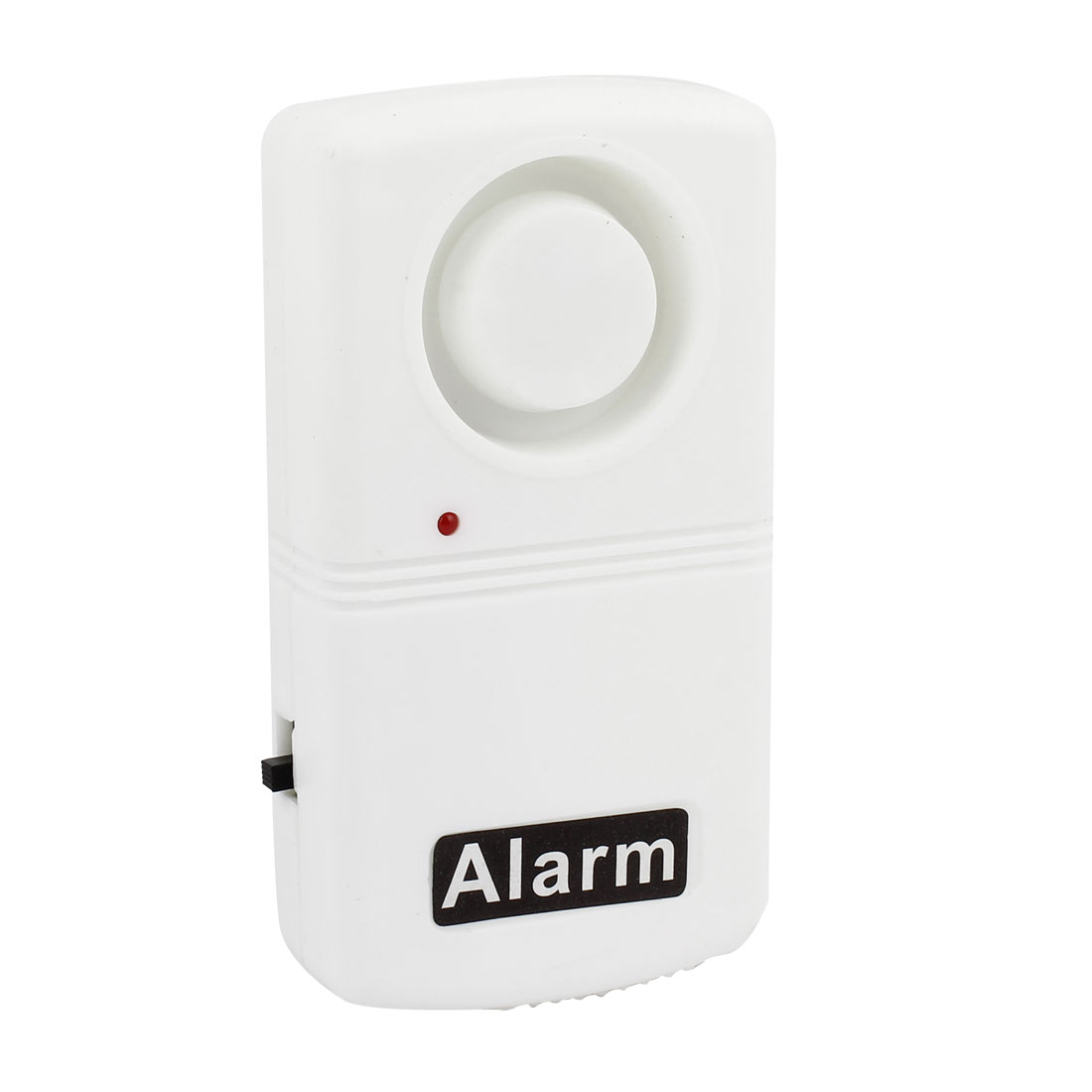 Home Door Window Security Wireless Vibration Alarm Detector White