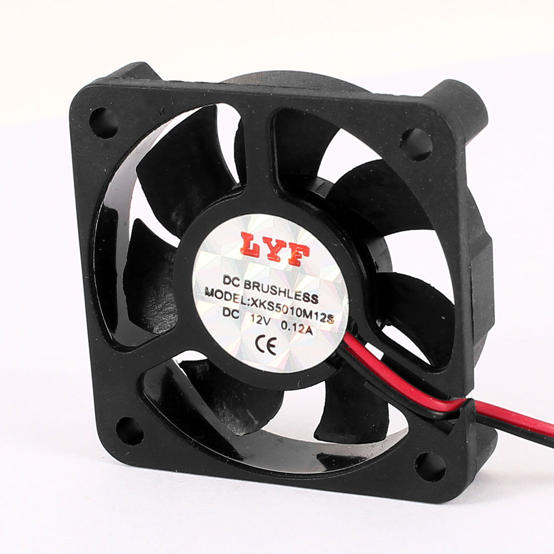 50x50x10mm 5010S 2500RPM Sleeve Bearing Brushless Cooling Fan DC 12V 0.12A