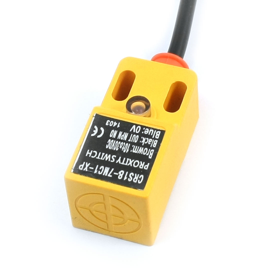 CRS18-7MC1-XP NO NPN 7mm Detect Inductive Proximity Sensor Switch DC 10-30V