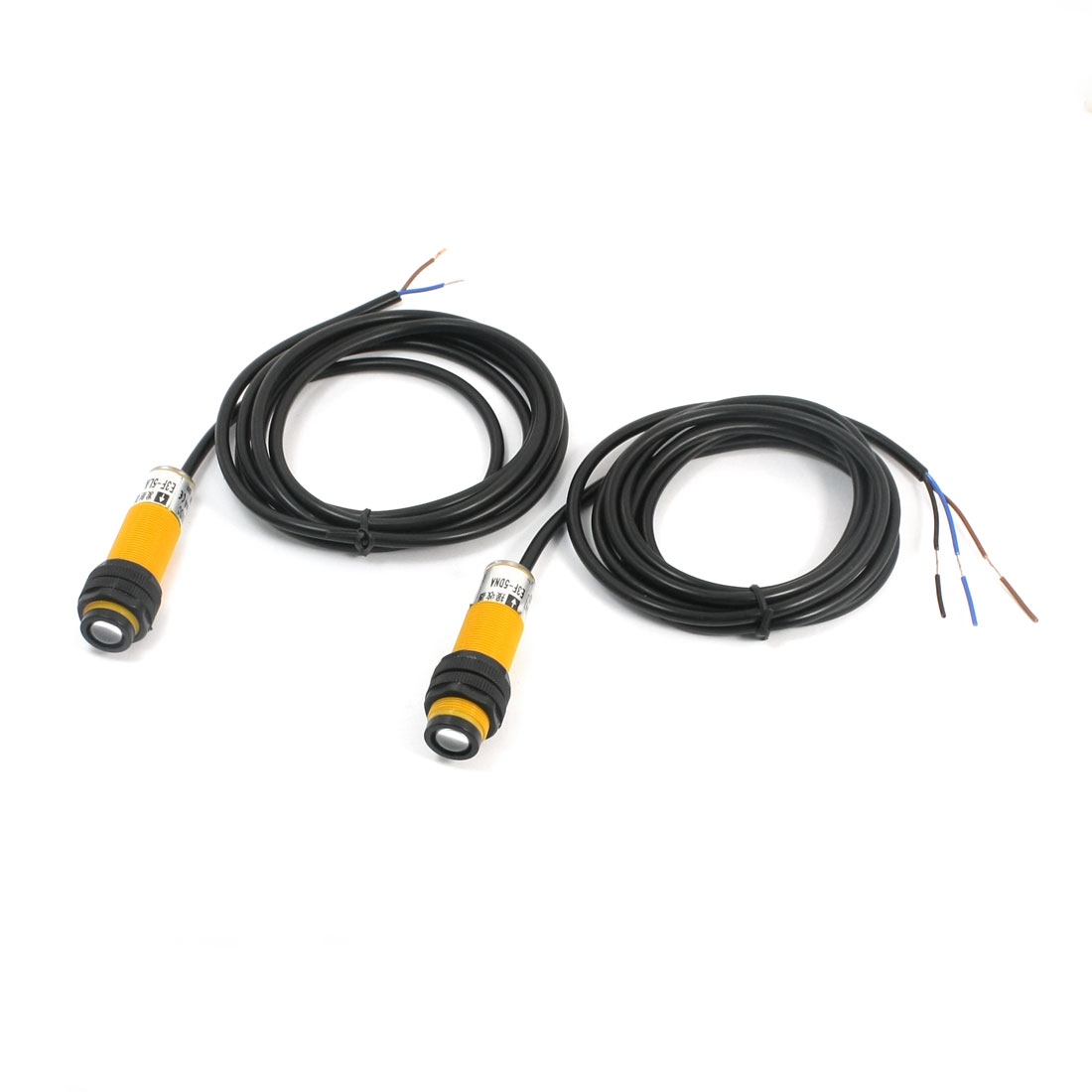 Pair DC 10-30V 20M Infrared Ray Correlation Photoelectric Switch Sensor E3F-5DNA