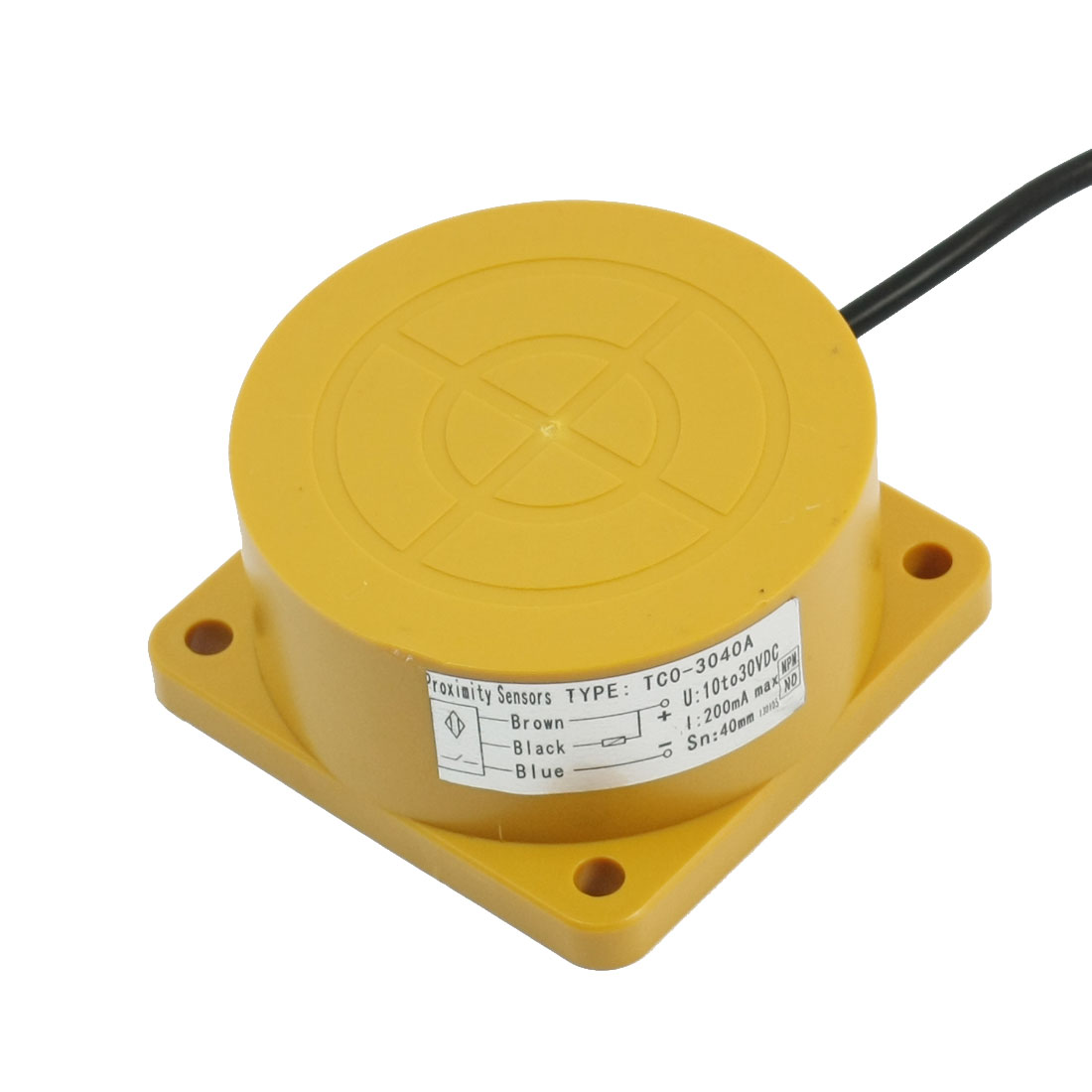 TCO-3040A 80mm Dia 40mm Detect Inductive Sensor Proximity Switch DC 10-30V