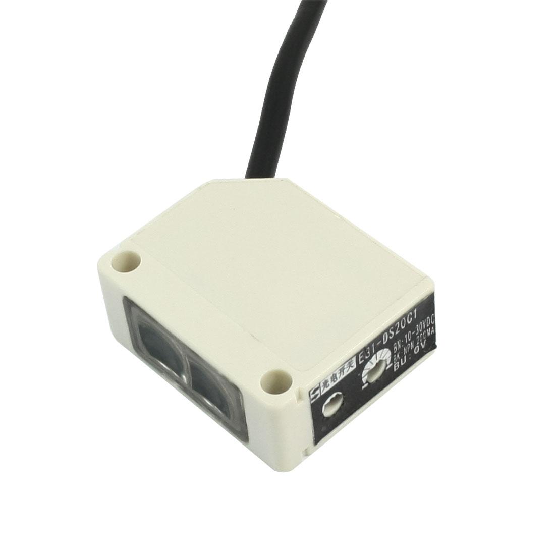 NPN 20cm Diffusion Proximity Photoelectric Sensor Photoswitch E31-DS20C1