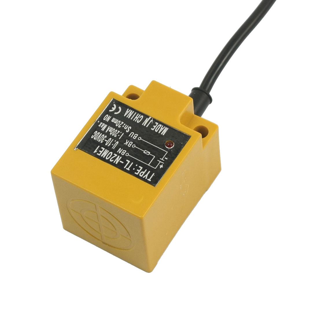 TL-N20ME1 NO Normal Open 20mm Inductive Proximity Sensor Switch DC 10-30V