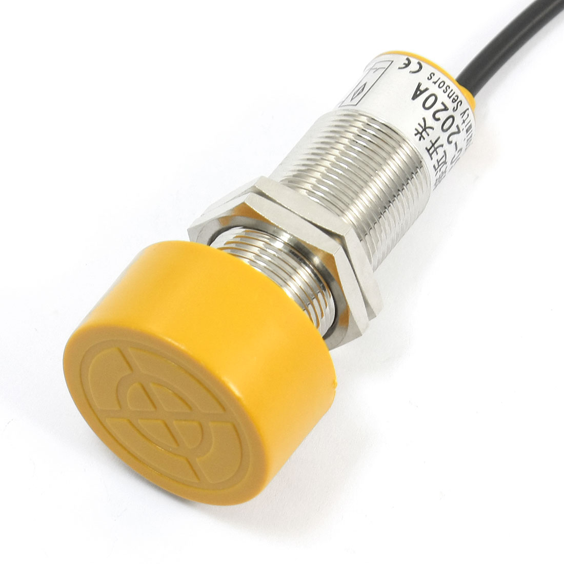 SC-2020A 24mm Thread 20mm Detect Inductive Sensor Proximity Switch AC 24-240V