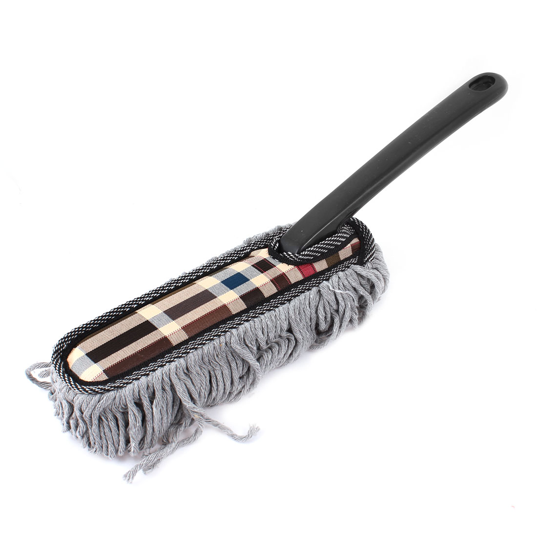 Black Gray Microfiber Chenille Vehicles Auto Car Cleaning Brush Tool