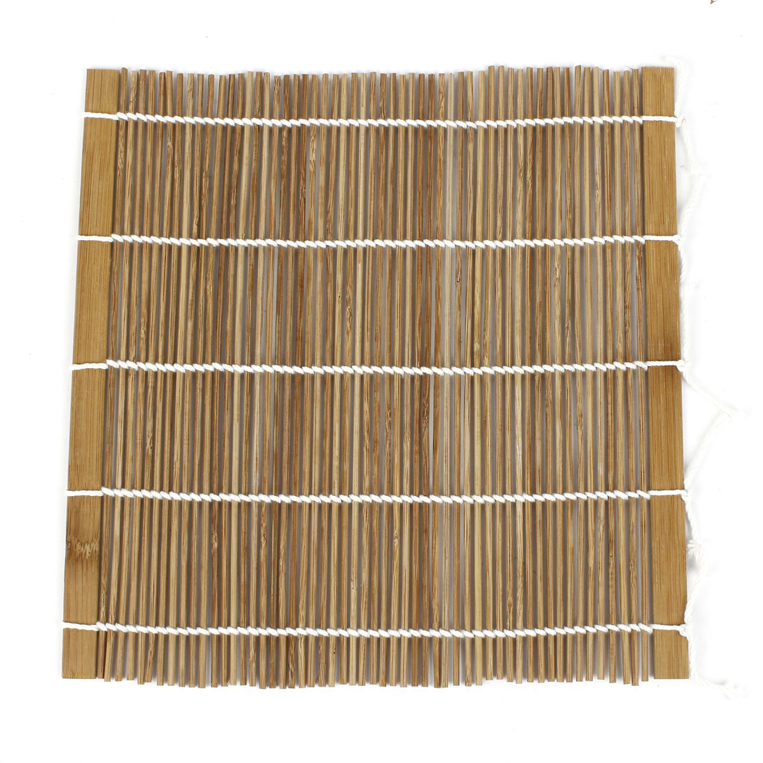 Home Bamboo Rolling Mat Sushi Roller Hand Maker Bento khaki