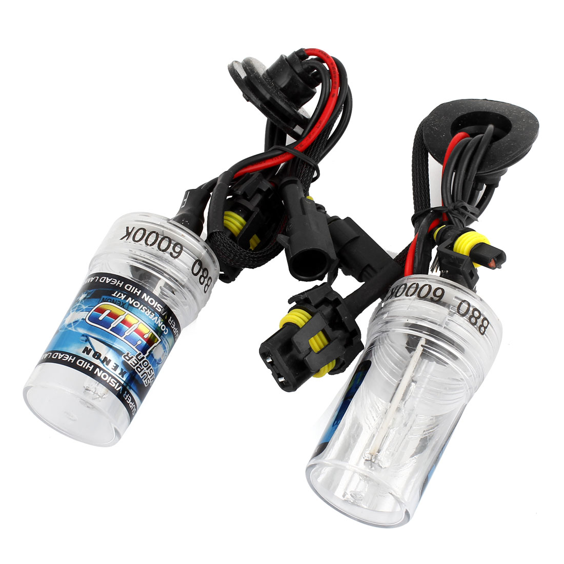 2PCS Automobile Car 880 6000K White Light HID Xenon Headlight Lamp Bulbs