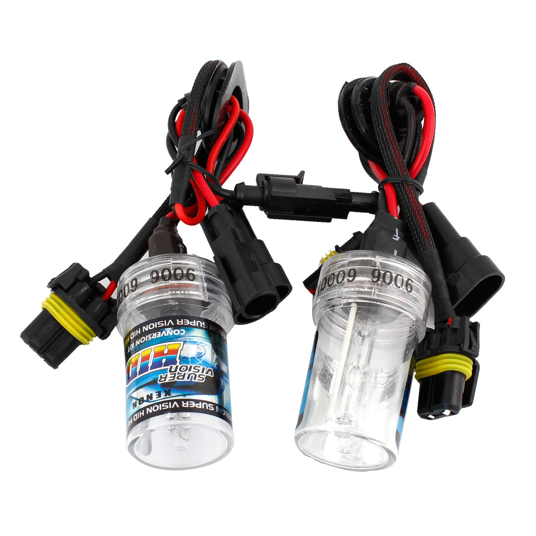 2PCS Automobile Car 9006 6000K White Light HID Xenon Headlight Lamp Bulbs