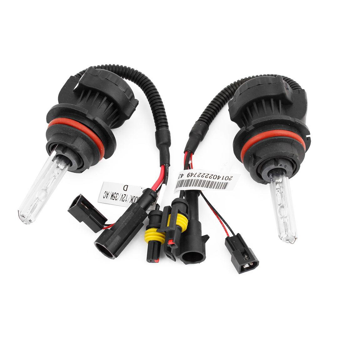 2 x 35W 6000K Car Auto HID 9004 9007 Headlight Lamp w Wiring Harness Controller