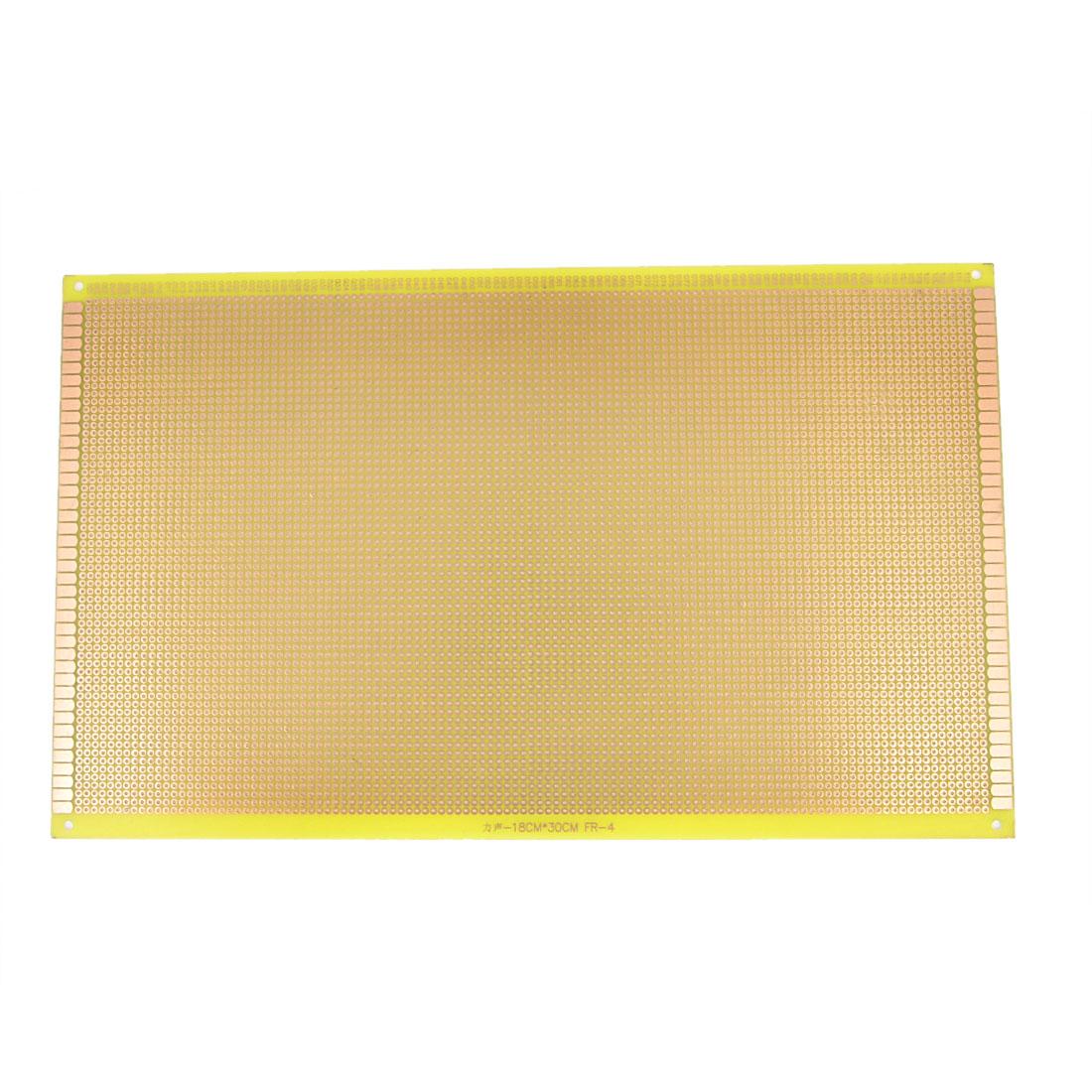 2.54mm Pitch PCB Board Prototype Breadboard Single Side 300mm x 180mm