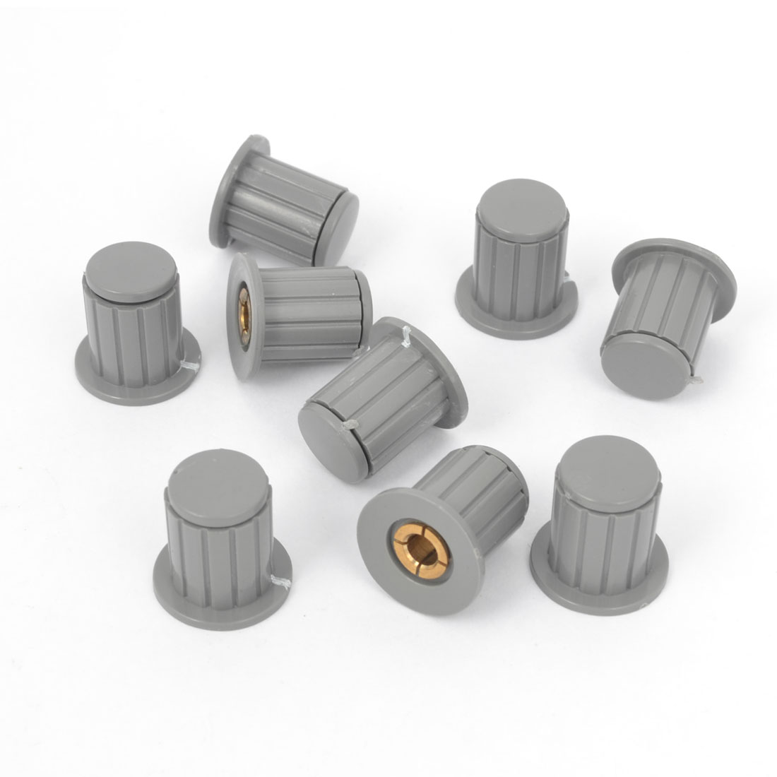 9 Pieces Replacement Audio Volume Control Potentiometer Knobs 4mm Dia
