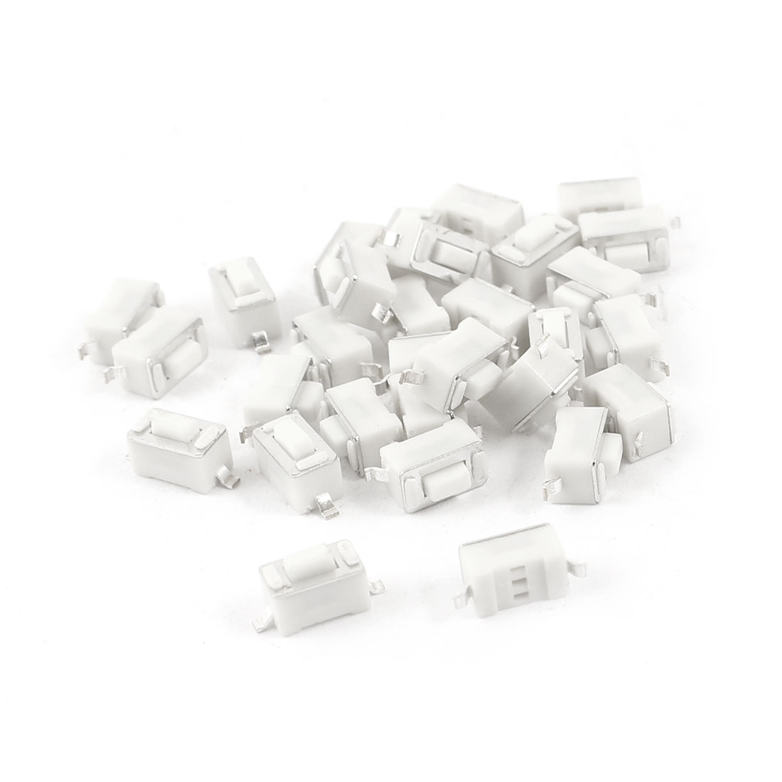 30 Pcs Momentary SMD SMT PCB Mount SPST Tactile Switch 6mmx3mmx4.3mm