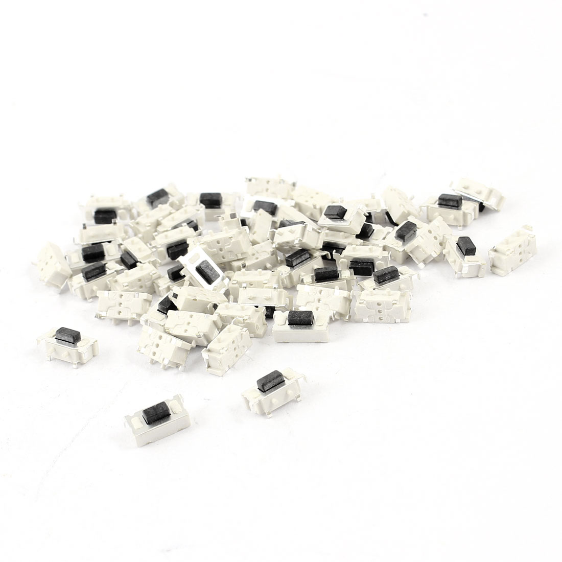 50 Pcs Momentary SMD PCB Mount SPST Tactile Tact Switch 6mmx3mmx3.5mm
