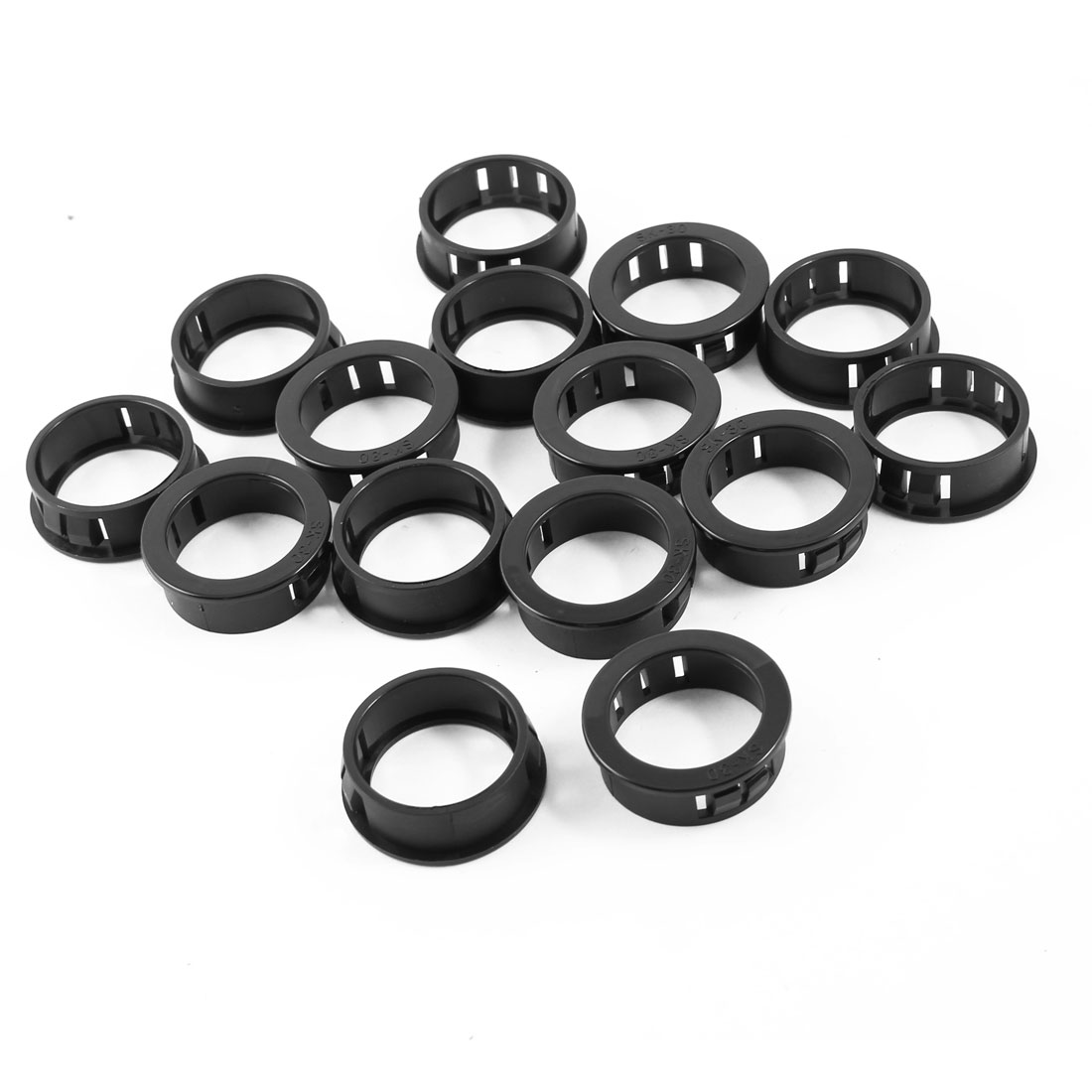 15 Pcs 30mm Mount Hole Cable Hose Harness Protective Grommet Snap Bushing
