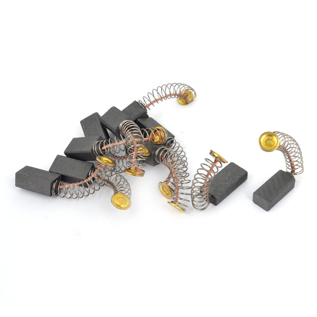 5 Pairs 13mm x 7mm x 5mm Electric Motor Carbon Brushes for Power Tool