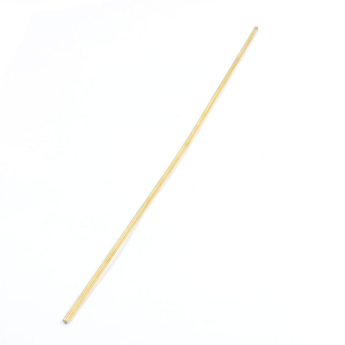 CNC Lathe Machine 300mm Length 3mm Dia Brass Axle Round Stock Rod Bar